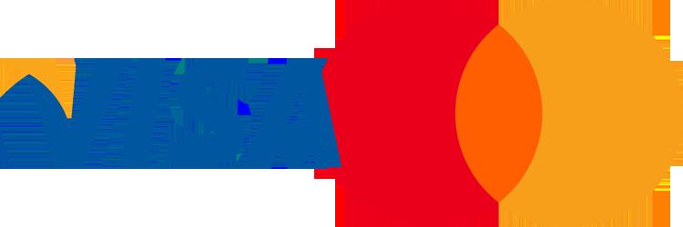 Acepting Visa and Mastercard